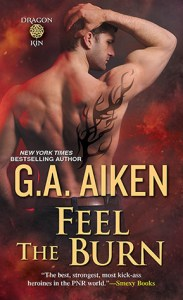 Review – Feel the Burn (Dragon Kin #8) by G.A. Aiken
