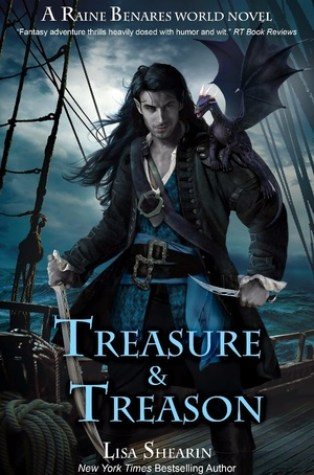 Review – Treasure & Treason (Raine Benares #8) by Lisa Shearin