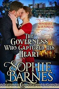 The Governess Who Captured His Heart cover image