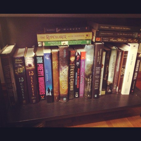 Thea's OSW TBR Shelf 2