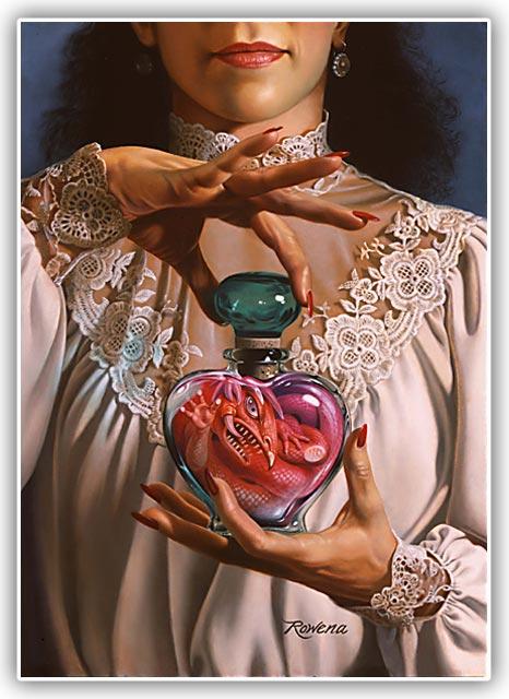 Forbidden Fragrance by Rowena Morrill