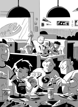 Geeks Girls and Secret Identities (Ch 1) by Mike Maihack