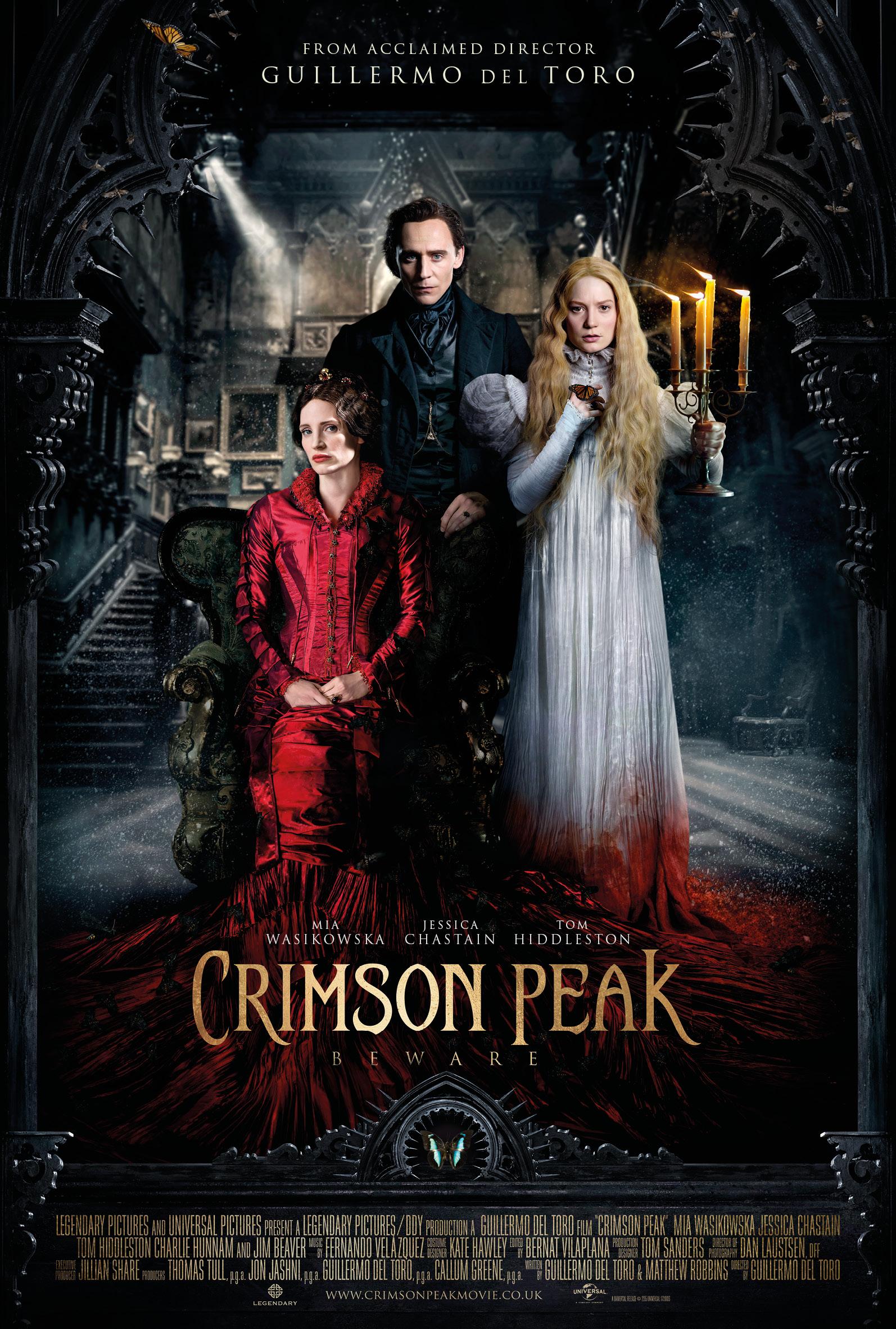halloween week crimson peak movie reviewthe book smugglers halloween week 2015 movie review crimson peak