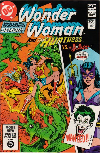 More Wonder Woman and Huntress action from Wonder Woman Vol. 1 #281