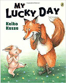 Image may contain: text that says 'MY LUCKY DAY Keiko Kasza'