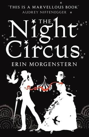 Image may contain: text that says ''THIS IS A MARVELLOus BOOK AUDREY NIFFENEGGER Night THE N Circus ERIN MORGENSTERN'
