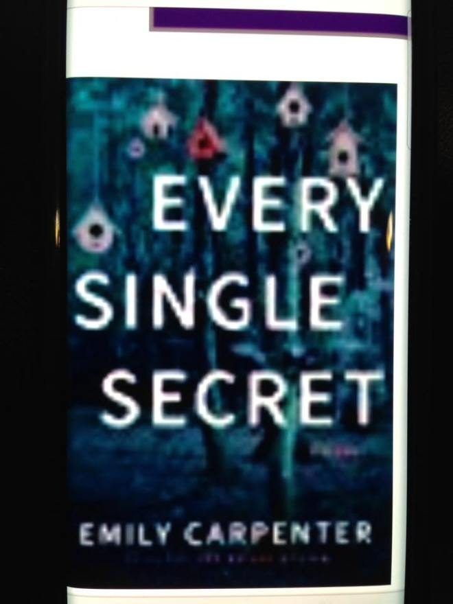 Image may contain: text that says 'EVERY SINGLE SECRET EMILY CARPENTER'