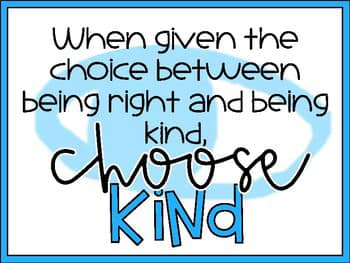 Image may contain: text that says 'When given the choice between being right and being choose kind, KINd'