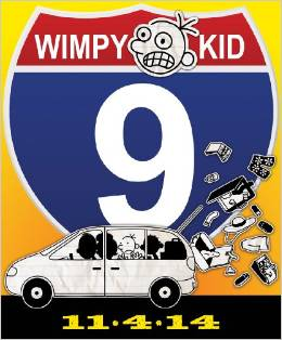 dairy of wimpy kid 9