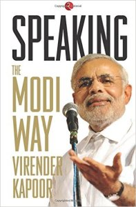 Speaking: The Modi Way by Virender Kapoor Review