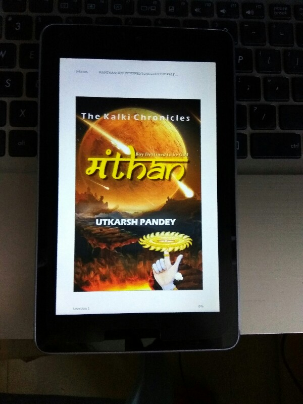 mythical novel on Kalki