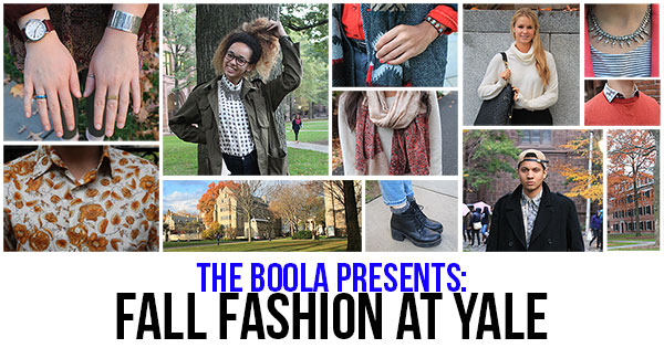 Fall Fashion Lookbook: Yale Edition