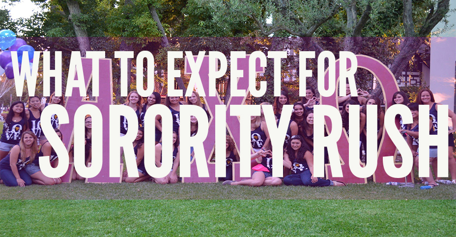 What To Expect for Sorority Rush