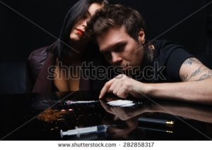 stock-photo-concept-social-drugs-two-people-taking-the-drug-the-plan-hemp-hard-and-soft-drugs-282858317