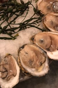 chelsea market oyster close up