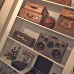 BoomCase Home Stereo Speaker Vintage Suitcase BoomBox Bluetooth Battery Portable Best
