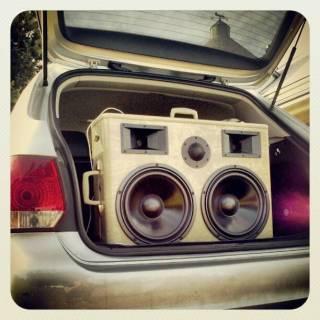 Epic BoomCase in VW Jetta Wagon Trunk