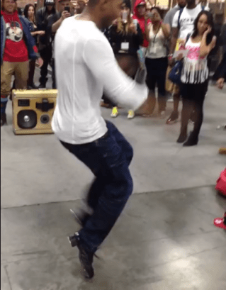 harlem shake project vegas 2013 boomcase tap dance crowd