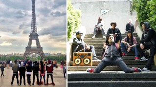 pARIS France BoomCase BoomBox Hip Hop Dance Break Dance Crew Puma The Quest