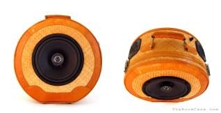 Vintage Picnic Basket BoomBox BoomCase - Rattan Speakers