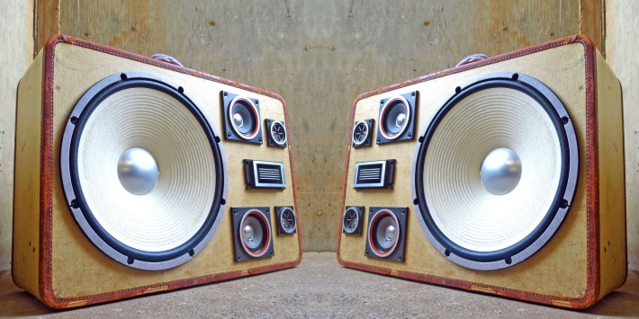 Hard Hitter BoomCase Bass Stereo Suitcase Thumper Thump