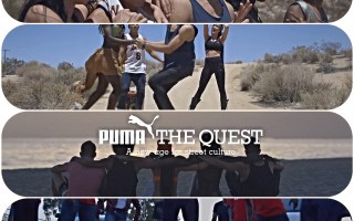 Puma LA Tight Eyez LA Krump Dance Break Dance Hip Hop California BoomCase BoomBox