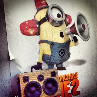 despicable Me 2 minion minions boomcase party boombox movie poster dance steve