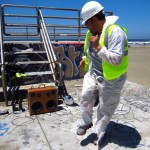 Josh Palos Bay to Breakers San Francisco SF California CA Dance Party Beastie Boys Construction HAT