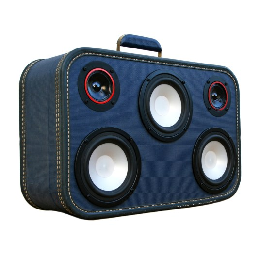 Urban Outfitters Urban Fashion Suitcase BoomBox Suitcase Speaker BoomBox BoomCase Jamie Oliver UK London Chef Cook Bruno Mars Kaskade Apartment Decor Home Stereo