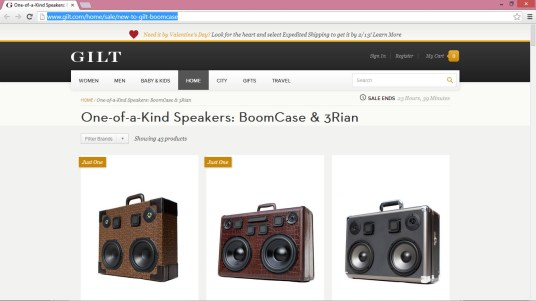 gilt.com sale gilt home boomcase decor interior design sale boombox vintage retro