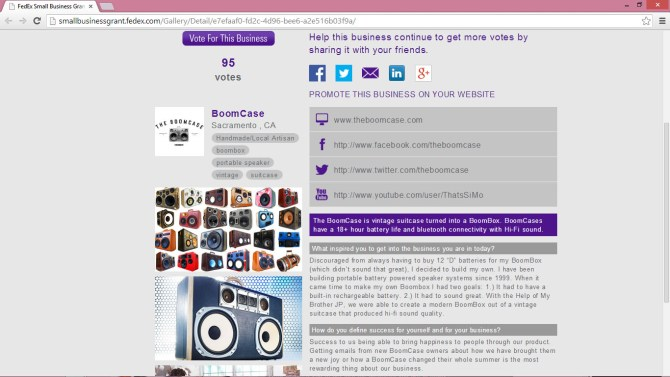 FedEx Grant vote best classic car radio stereo speaker boombox boomcase mercedes skyway LA vintage car vintage boombox stereo radio classic retro corvette stingray red interior droptop convertible