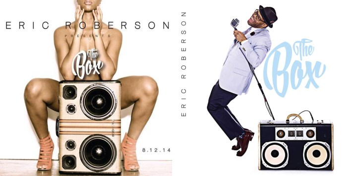 Eric Roberson BoomCase Album The Box Studio Fresh Legs Mix BoomBox Vintage Suitcase Style Soul Fresh Grammy