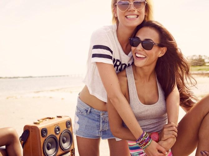 BoomCase Summer Sam Robinson Endless Beach Miami Fun Times Girls Boys BoomBox Bikini Shades