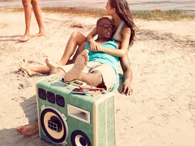 BoomCase Summer Sam Robinson Endless Beach Miami Fun Times Girls Boys BoomBox Bikini Shades bluetooth speaker unique