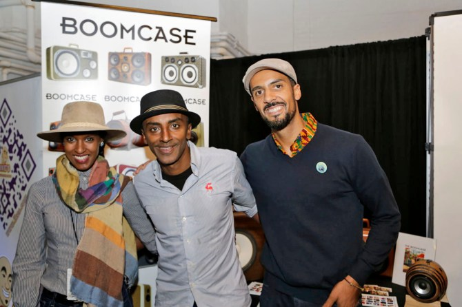 Marcus Samuelsson Chef NYC BoomCase New York Food Network Wine Speaker