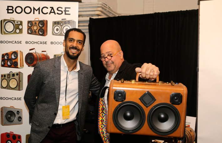 Andrew Zimmern Zimmerman Bizarre Foods Food Network Channel Travel Food Festival Wine BoomCase BoomBox New York NYC