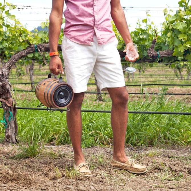 Wine Barrel Whiskey Barrel Keg BoomCase BoomBox Oak Barrel BoomBarrel Speaker Bluetooth Wireless Speakers Battery Best Sound
