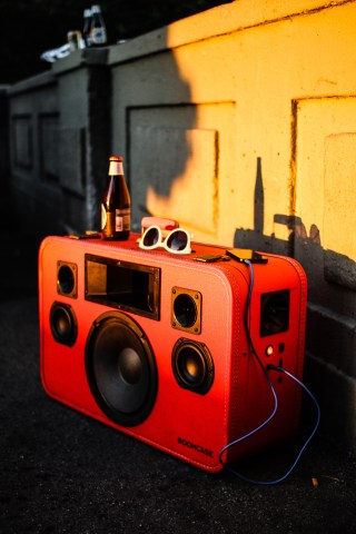 San Francisco BoomCase Red BoomBox Sunset Walk