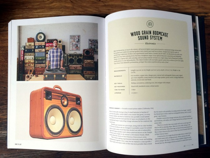Made to last Vanessa Murray BoomCase Book Handmade BoomBox Wood Suitcase Vintage