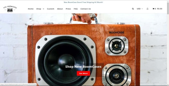 New BoomCase Store
