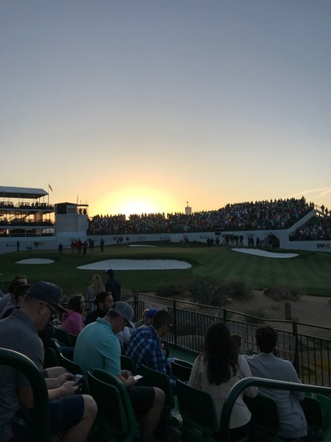 Sunrise over the Stadium Hole