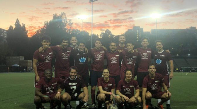 A weekend at the UCLA Intramural Soccer tournament!