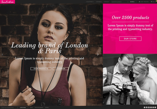 Best Fashion Shop Template - The Bootstrap Themes