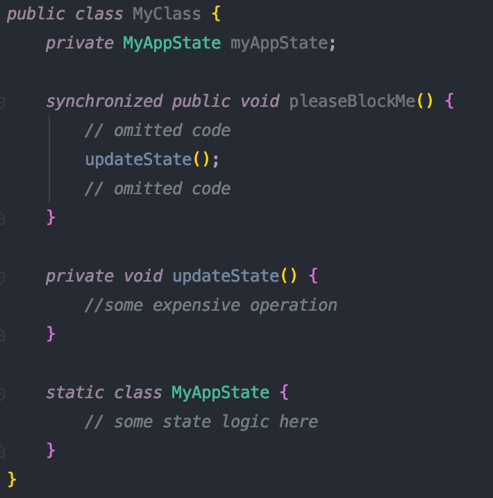 Java concurrency synchronized