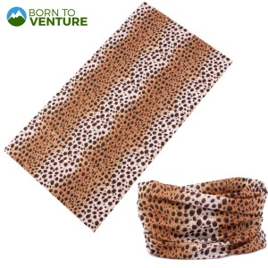 Brown Spotted Animal Prints Magic Headband