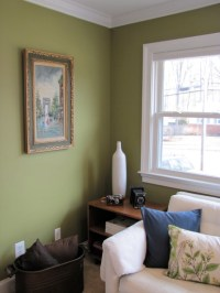 Living Room: Painted! - The Borrowed AbodeThe Borrowed Abode