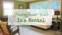 Reader Q: Painting Accent Walls in a Rental - The Borrowed ...
