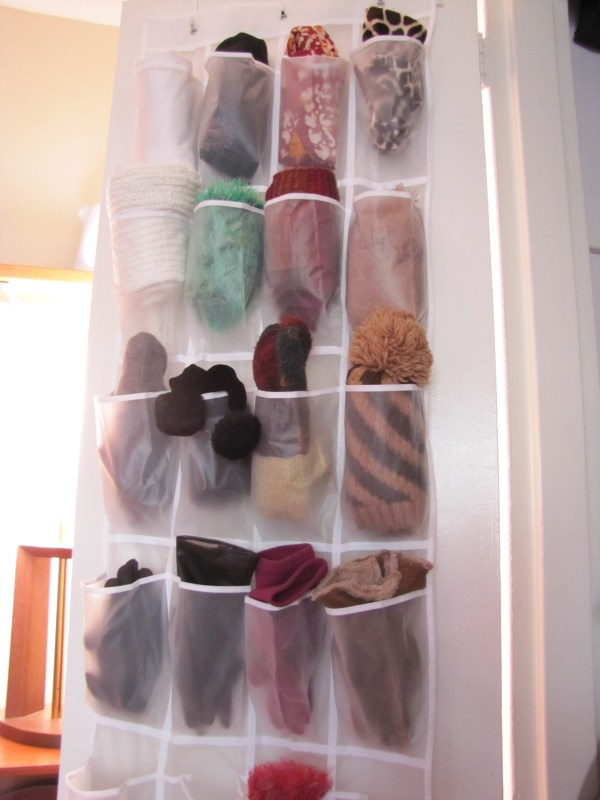 Winter Hats and Gloves Storage