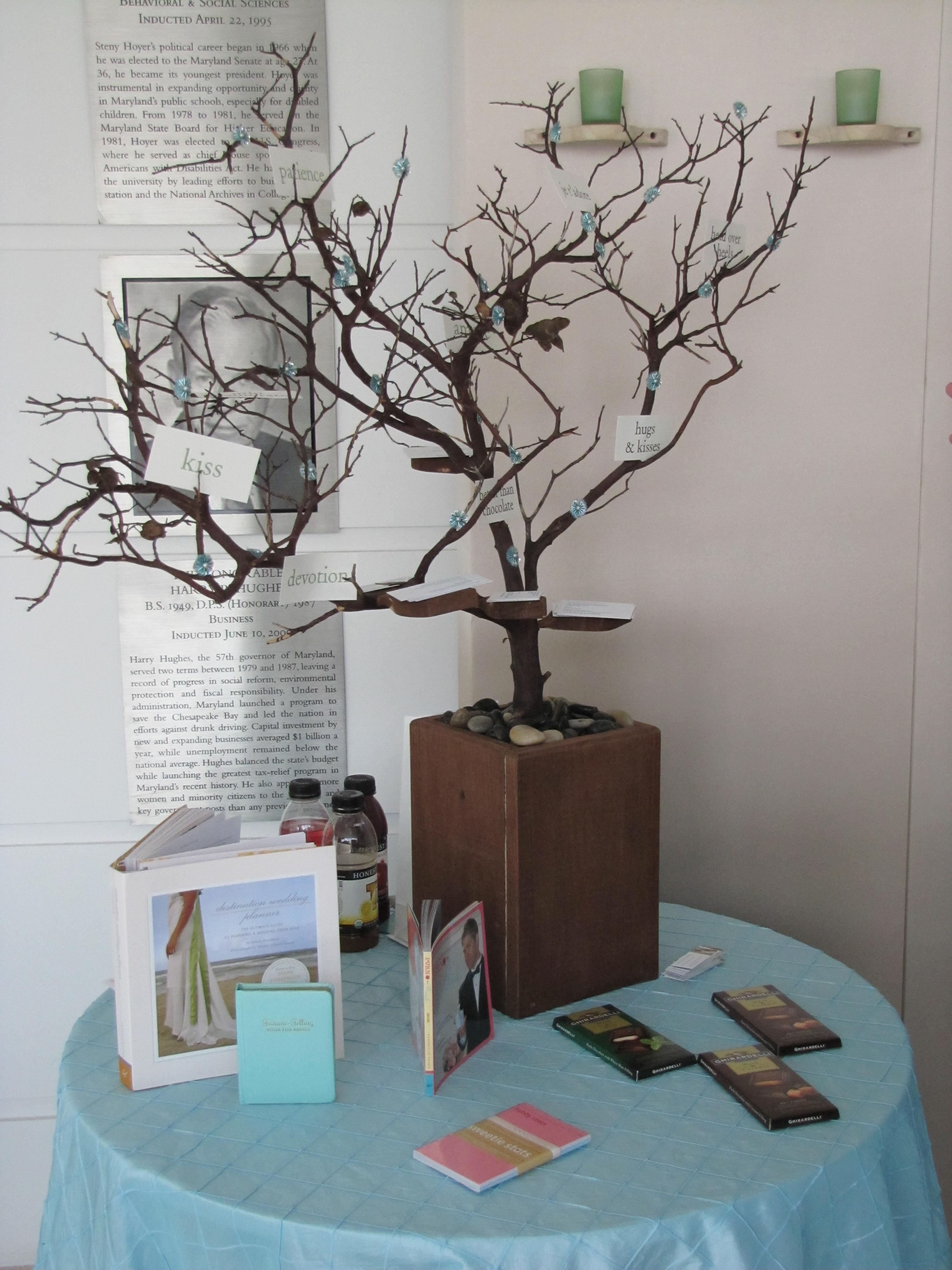 EcoWedding Memory Tree  The Borrowed Abode