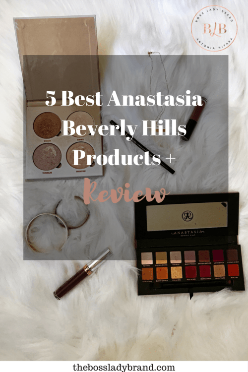 5 Best Anastasia Beverly Hills Products
